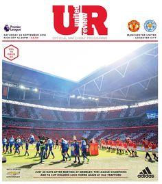 Man United vs Leicester programme – 24.9.16