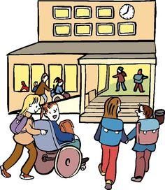 Educación inclusiva. Escuelas sin barreras.