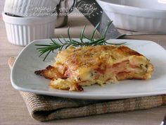 La Parmigiana di patate è un ottimo secondo piatto o anche un piatto unico composto da strati di patate alternate da mortadella e formaggi e mozzarella