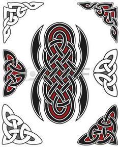 keltisch: Set of celtic Design elements                              …