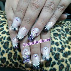 Tecnica de Reversa #nails  #instanails  #nailsart  #uñasbellas  #nail  #nailsinstagram  #nailsdesign