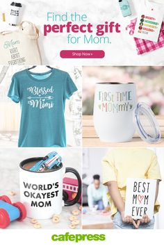 Looking for one-of-a-kind Mother's Day gift ideas? Shop personalized & monogram gifts, gifts for dog moms, mom-to-be gifts, mother's day greeting cards etc. Mothers Day Special, Diy Mothers Day Gifts, Gifts For Mom, Easy Mother's Day Crafts, Grandparents Day Crafts, Mother Birthday Gifts, Mother's Day Greeting Cards, Maternity Tees, Unique Gifts For Her