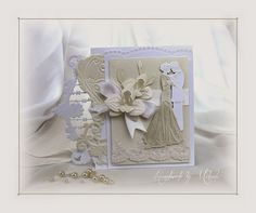Handmade by Mihaela: Wedding card