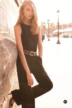 I'm not one for jumpsuits, but this one could definitely change my opinion (Mango Spring 2012)
