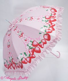 AP Berry Garden Umbrella pink