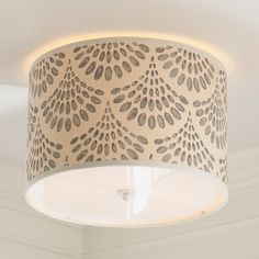 Young House Love Scallop Spray Shade Ceiling Light - Shades of Light