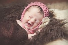 Crochet Pattern for Ripple Baby Bonnet Hat - 5 sizes, newborn to child - Welcome to sell finished items
