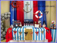 nautical birthday party ideas | Photo 28 of 30: « Previous Next »