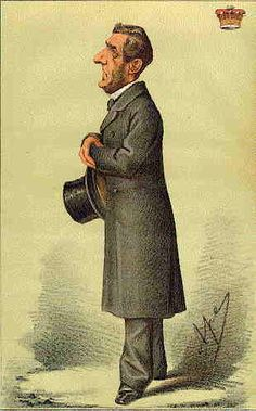 Earl of Shaftesbury as caricatured in Vanity Fair, 1868/9    http://www.antiquemapsandprints.com/scansj/j-20127.jpg
