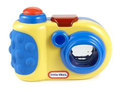 Little Tikes DiscoverSounds Camera Blue 6+ Months/yellow with blue trim by Little Tikes. $9.79. Little Tikes DiscoverSounds Camera Blue 6+ MonthsLittle TikesDiscoverSounds CameraBlue 6+ Months6 x 2.5 x 8.1 inches ; 0.2 ounces - 6.4 ouncesManufacturer Recomended Age: 6 years and up