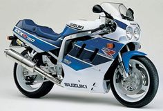 GSX-R 750L, 1990 Been there done that.. Awesome..