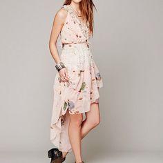 Free People Floral Skies Dress