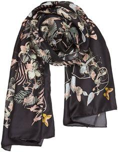 Tropical Symmetry silk scarf SS16 #silktwill