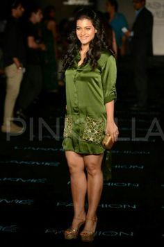 Kajol was spotted at Anushka Khanna's show at Lakme Fashion Week. The show was also attended by Manish Malhotra, Ashiesh Shah, Shabana Azmi, Gaurav a. Indian Bollywood Actress, Beautiful Bollywood Actress, Most Beautiful Indian Actress, Beautiful Actresses, Bollywood Bikini, Bollywood Girls, Hot Actresses, Indian Actresses, Kajol Saree