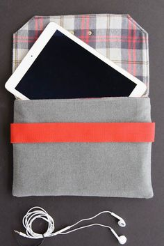 DIY Une pochette pour iPad. (BERNINA Wool iPad Case Tutorial) (http://weallsew.com/how-to-sew-a-wool-ipad-case/)