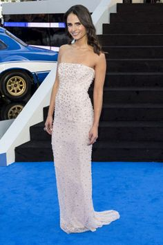 """Get Jordana Brewster's Toned Triceps: Flash: When it comes to looking fit and fabulous, Fast & Furious 6 star Jordana Brewster's got it all figured out. """"She knows more about fitness and healthy eating than most trainers in L.A.!"""" says her own personal trainer, Harley..."""