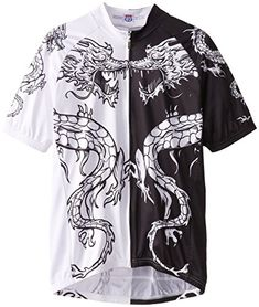 83Sportswear Dragon Tattoo Cycling Jersey Black Small -- Check out the  image by visiting the link.Note It is affiliate link to Amazon.  FunCycling 634fda35d