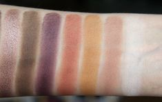 nabla cosmetics eyeshadow - Entropy, Camelot, Mimesis, Petra, Caramel, Narciso, Antique White