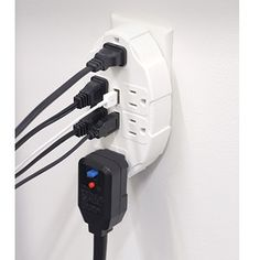 Easily convert two standard outlets into six outlets while you add two USB ports with this Outlet Multiplier. It features grounded outlets with a space saving design that easily accommodates over-sized plugs. The two 2.1 amp USB ports are ideal for charging your mobile phone, iPad, tablets, and most electronic devices.