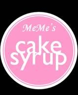 My Cake Syrups that I sell