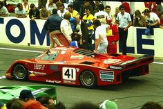 Tiff Needell / Steve O'Rourke / Nick Faure - EMKA C83/1 Aston Martin - Emka Productions Ltd. - LI Grand Prix d'Endurance les 24 Heures du Mans - 1983 FIA World Endurance Championship, round 4 - European Endurance Championship, round 4