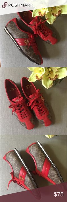 NWOT Coach Sneakers Brandnew without tags. Never worn!! Price is firm. No offers accepted Coach Shoes Sneakers