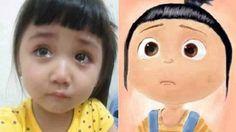 Cute Girl Crying Wallpaper