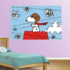 Give your Snoopy room some flair and save money with 50-60% off Peanuts Wall Decals! Shop at CollectPeanuts.com to help support our site. Thank you!