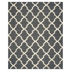 Safavieh Maison Textured Rug - Dark Grey/Ivory