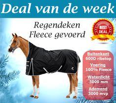 Avalance Regendeken Fleegevoerd! http://happyhorsedeal.nl/  Normale prijs: € 110,- Nu € 62,95! op=op