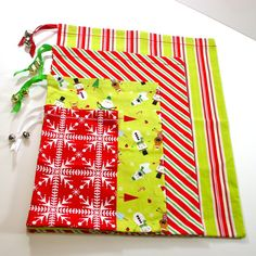 eco friendly, reusable, fabric gift bags