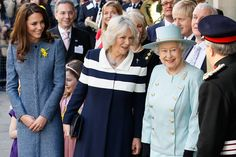In Pictures: Royal Ladies Make Public Appearance