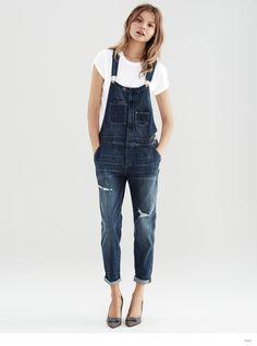 Magdalena Frackowiak Models H&M Fall Denim Looks