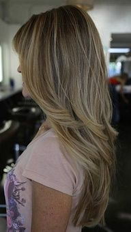 Layers and Highlights for Teen Girls Hairstyles