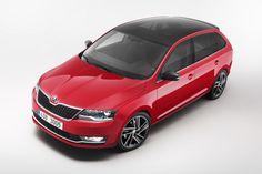 Одной из важных новинок чешской компании SKODA на Женевском автосалоне станет обновленная модель Skoda Rapid.