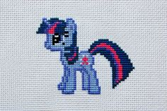 PATTERN  My Little Pony  Twilight Sparkle  Cross by WistfulBird, $4.00