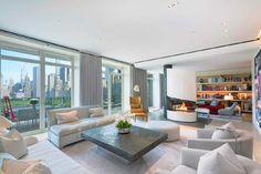 New Lyfe Feinste Luxus-Penthouse New York Apartments, New York City Apartment, Penthouse Apartment, Apartments For Sale, Apartment Interior, New York Penthouse, Manhattan Penthouse, Luxury Penthouse, Architectural Digest