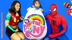Huevo Gigante Sorpresa de Mi Pequeño Pony My Little Pony Giant Egg Jugue...