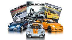 Entre la colección se encuentran míticos modelos, como el 918 RSR, al 911 Carrera S y al Cayman S.