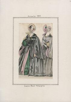 Ladies' Pocket Magazine November 1839 LAPL