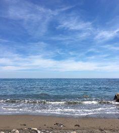 Quiet day at Galeazza beach