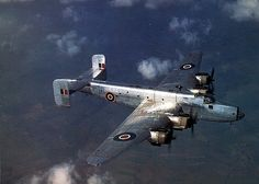 After the war many bombers including this Handley Page Halifax was adapted to carry freight and passengers.