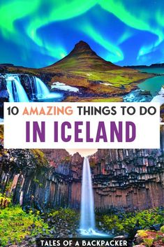 10 Amazing Things to do in Iceland - Here are 10 awesome activities in Iceland that you can do on this magical island and nowhere else!  So read on for some inspiration for unique things to do in Iceland, and you won't be disappointed! #Iceland #ThingstodoinIceland Iceland Travel Tips, Iceland Road Trip, Tours In Iceland, Europe Travel Guide, Travel Guides, Travel Destinations, European Travel Tips, European Destination, Berlin