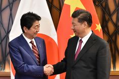 Seeing U.S. in Retreat Under Trump Japan and China Move to Mend Ties
