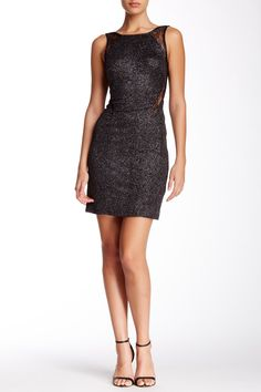 Hailey Adrianna Papell | Glitter Jersey Lace Dress | Nordstrom Rack