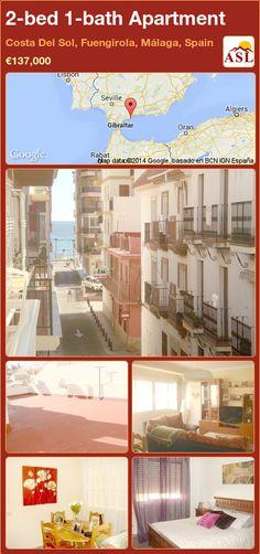 2-bed 1-bath Apartment in Costa Del Sol, Fuengirola, Málaga, Spain ►€137,000 #PropertyForSaleInSpain