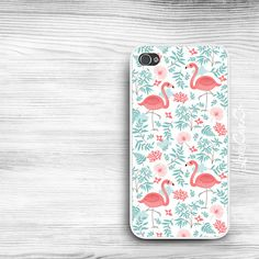 Pretty Flamingos iPhone 5s Case / iPhone 5 Case / par LovelyCaseCo, $18.00