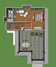 Two-Story Modern House With Three Bedrooms and a Very Spacious Terrace Second Story, Pinoy, Projects To Try, Bedrooms, Floor Plans, House, Log Projects, Trendy Tree, Home