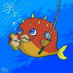 Pufferfish! From Squishable fan Macy P! #plush