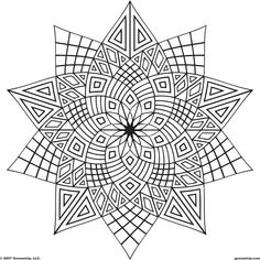 Sweet Coloring Page for Teens or Adults